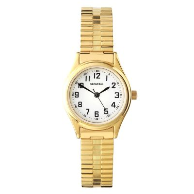 Sekonda Damenuhr in Gold 4244