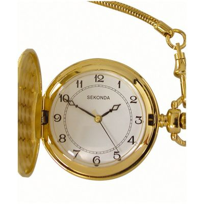 Sekonda Herrenuhr in Gold 3799