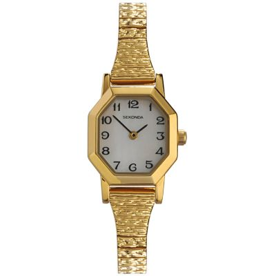 Sekonda Damenuhr in Gold 4265