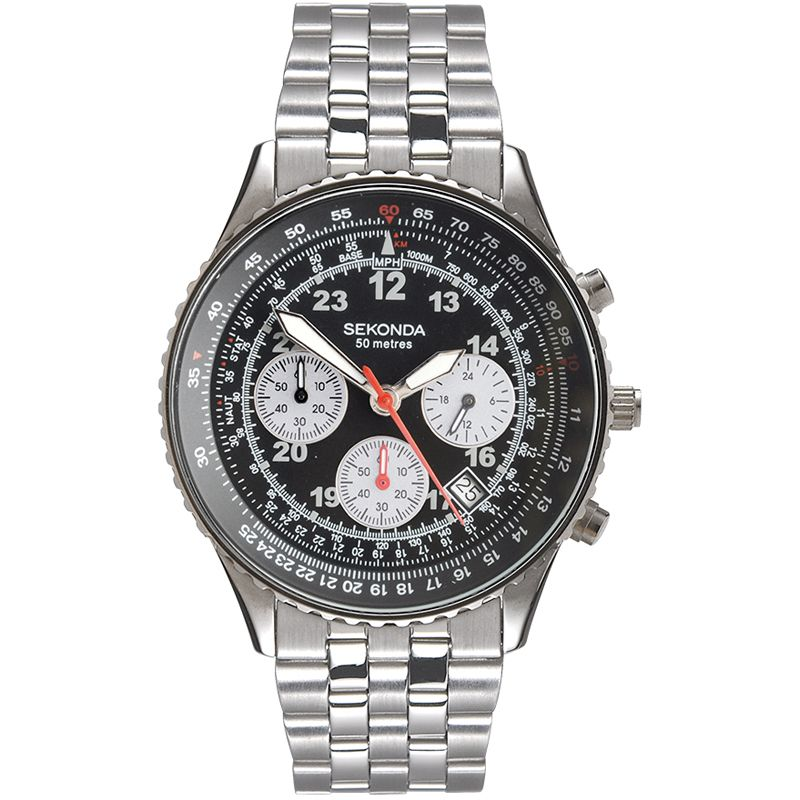 Mens Sekonda Chronograph Watch 3092