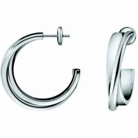 Ladies Calvin Klein Stainless Steel Coil Earrings KJ63AE010100