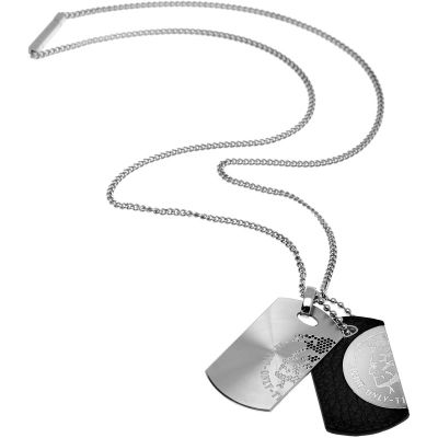 Mens Diesel Stainless Steel Necklace DX0289040