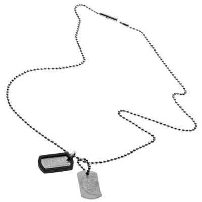 Mens Diesel Stainless Steel Necklace DX0202040