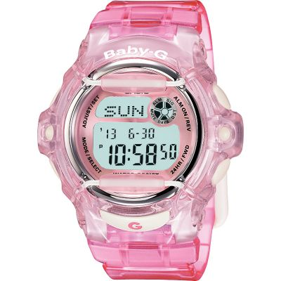 Ladies Casio Baby-G Alarm Chronograph Watch BG-169R-4ER