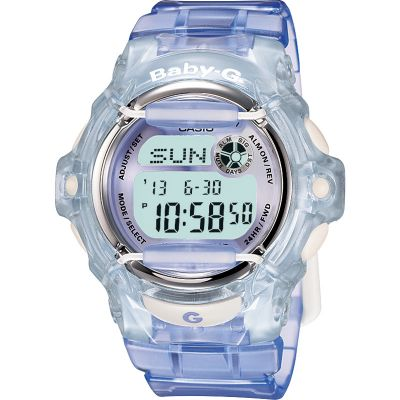 Ladies Casio Baby-G Alarm Chronograph Watch BG-169R-6ER