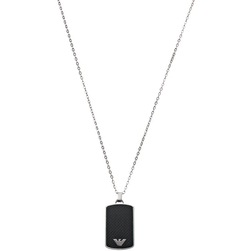 Mens Emporio Armani Stainless Steel Necklace EGS1175040