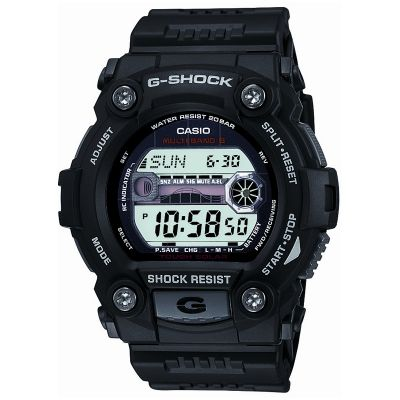 Mens Casio G-Shock G-Rescue Alarm Chronograph Radio Controlled Watch GW-7900-1ER