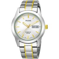 Mens Pulsar Kinetic Watch