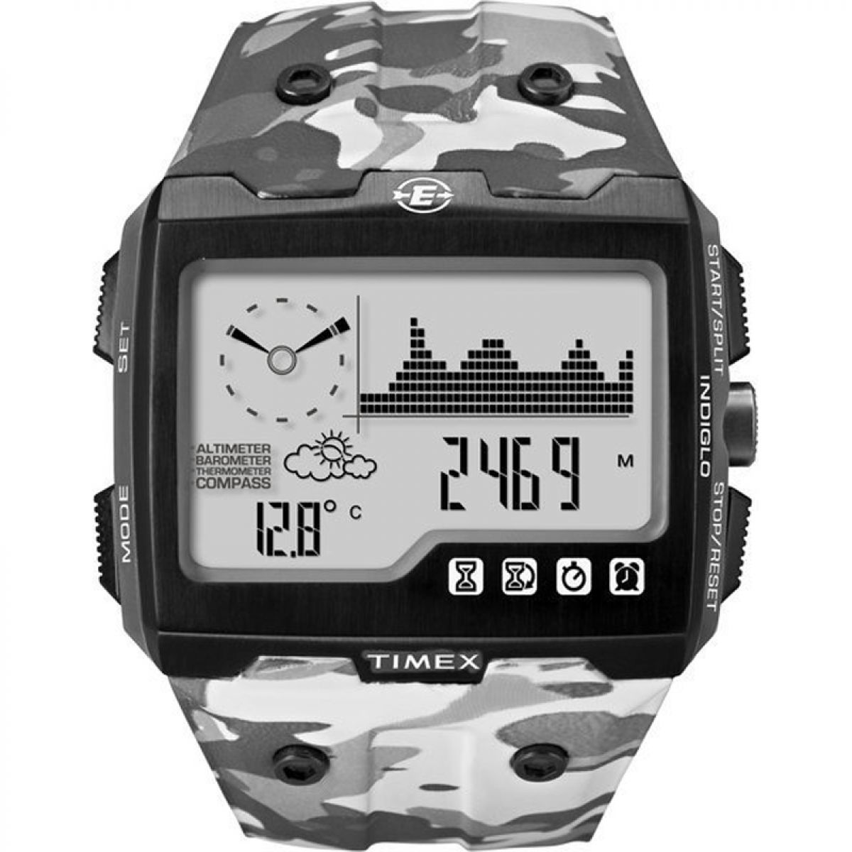 gents timex expedition ws4 alarm chronograph watch t49841 rh watchshop com Timex Expedition WS4 Watch Timex Expedition WS4 Watch On Wrist