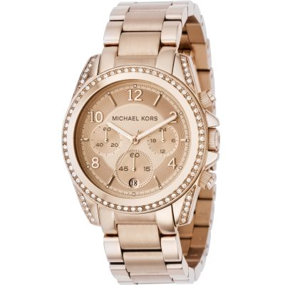 Michael Kors Blair Damenchronograph in Rosa MK5263
