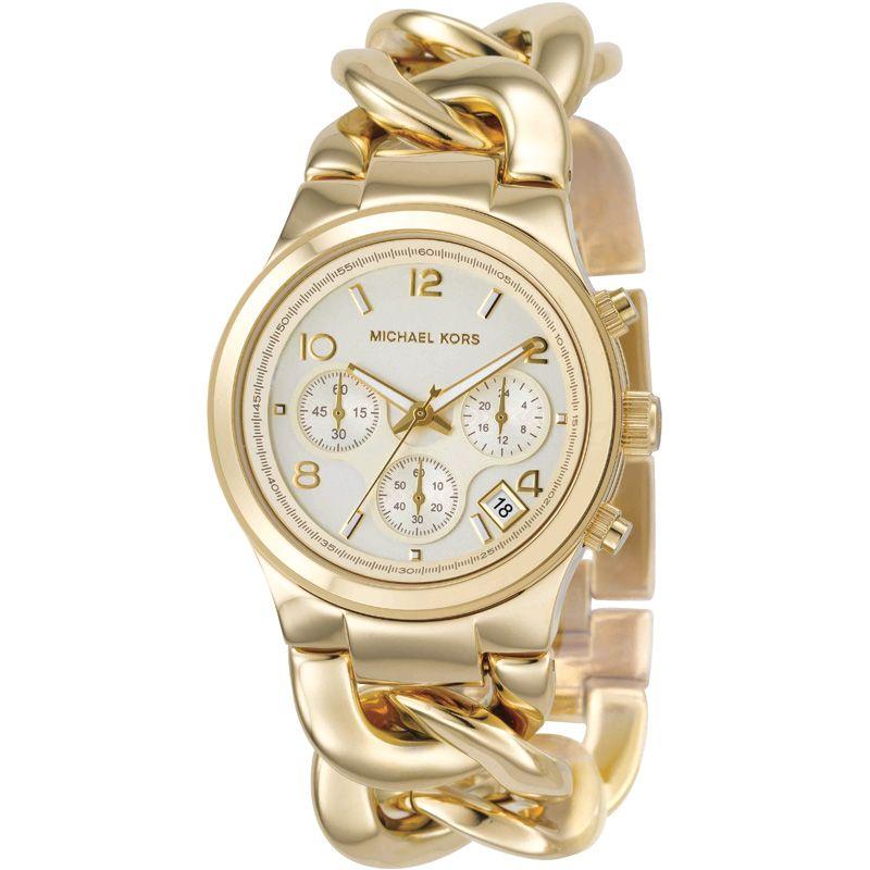 Ladies Michael Kors Chronograph Watch MK3131