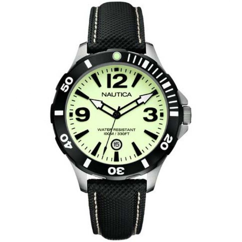 Mens Nautica BFD101 Diver Watch A13501G