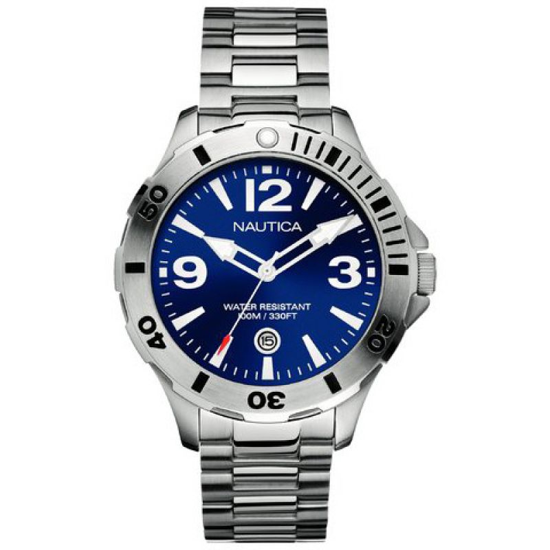 Mens Nautica BFD101 Diver Watch A14545G