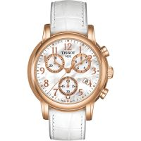 Ladies Tissot Dressport Chronograph Watch T0502173611200