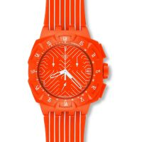 Unisex Swatch Flash Run Chronograph Watch SUIO400