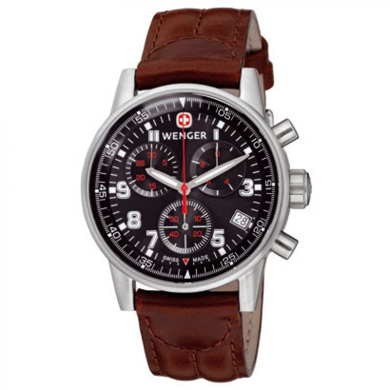 Mens Wenger Commando Chronograph Watch 70899.XL