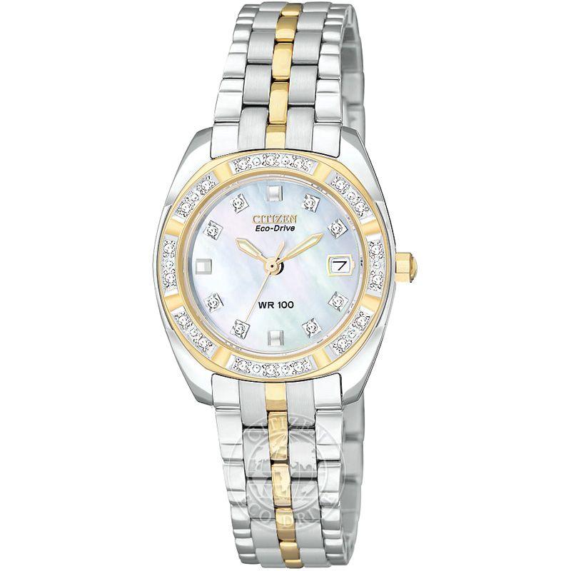 Ladies Citizen Paladion Diamond Watch