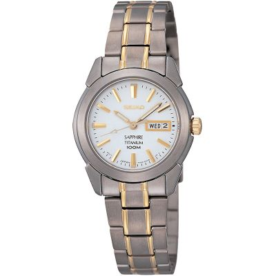 Ladies Seiko Titanium Watch SXA115P1