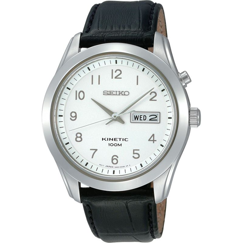 Mens Seiko Kinetic Watch SMY109P1