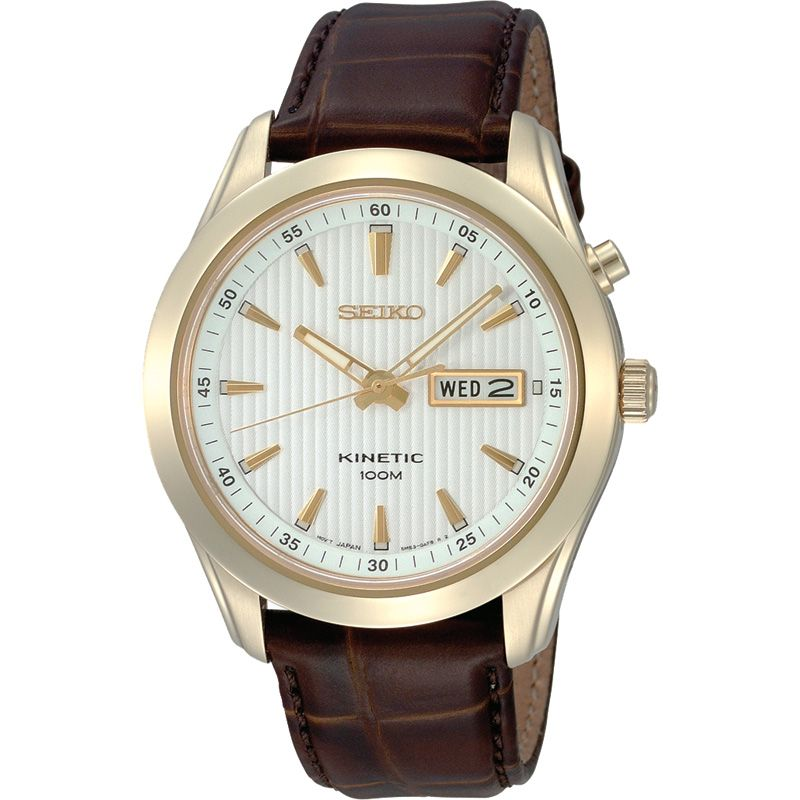 Mens Seiko Kinetic Watch SMY110P1