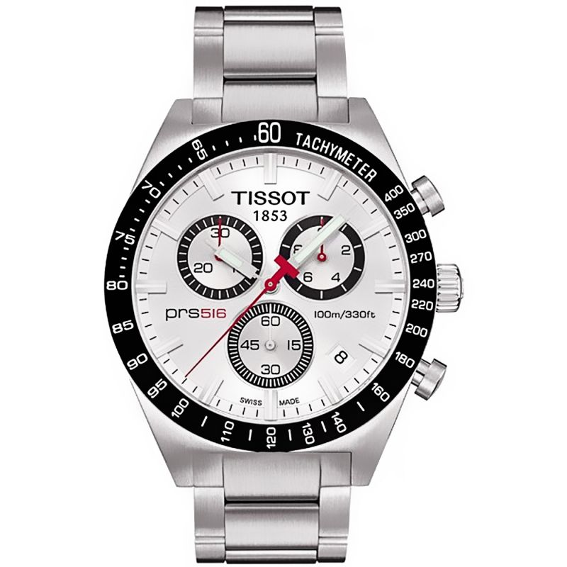 Mens Tissot PRS516 Chronograph Watch T0444172103100