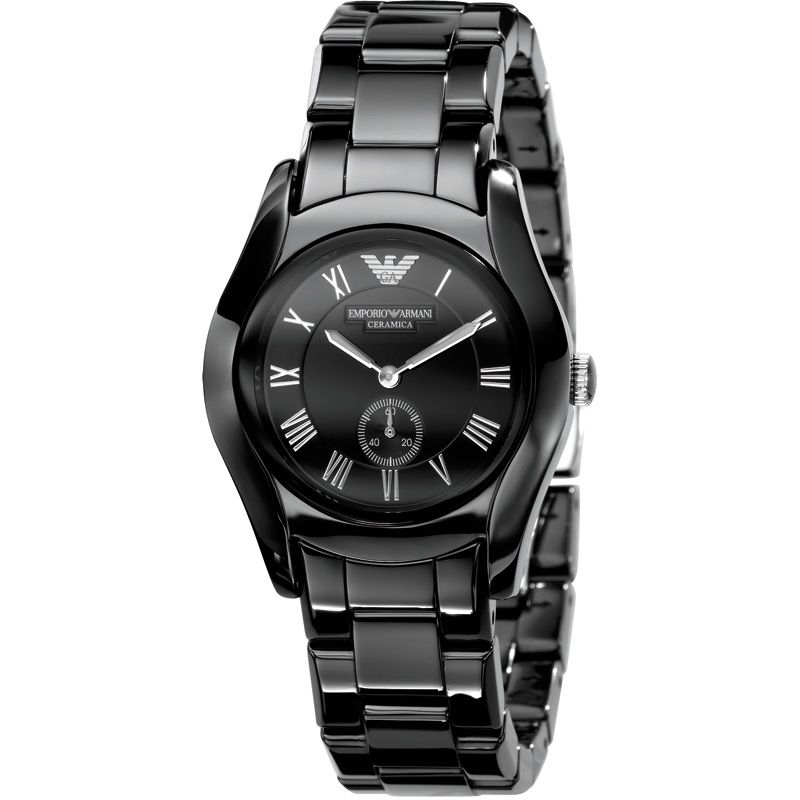 Ladies Emporio Armani Ceramic Watch AR1402