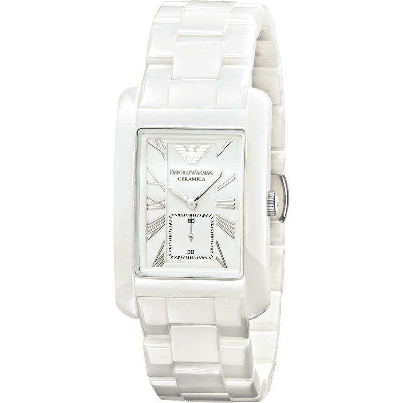 Unisex Emporio Armani Ceramic Watch AR1408