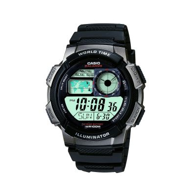 Casio World Herenchronograaf Zwart AE-1000W-1BVEF