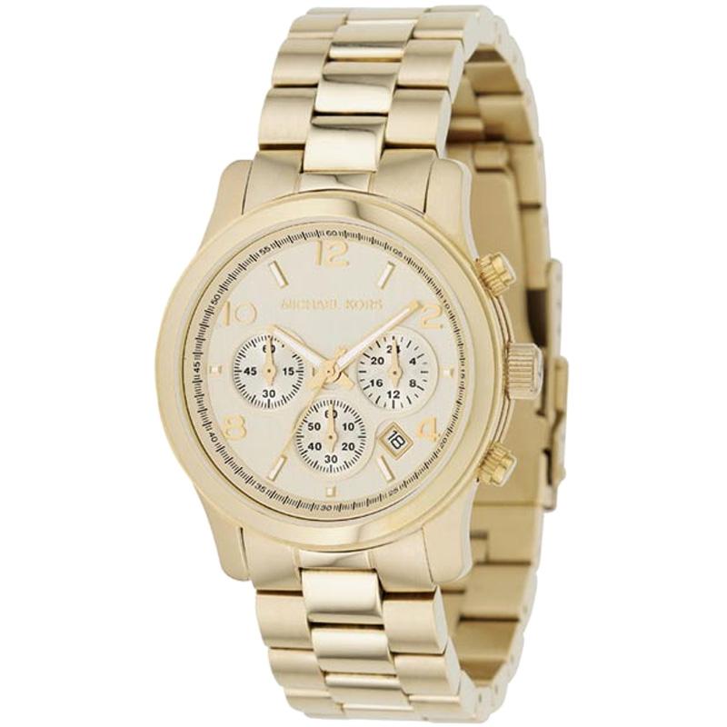 860f530cdf2 Ladies Michael Kors Runway Chronograph Watch (MK5055) | WatchShop.com™
