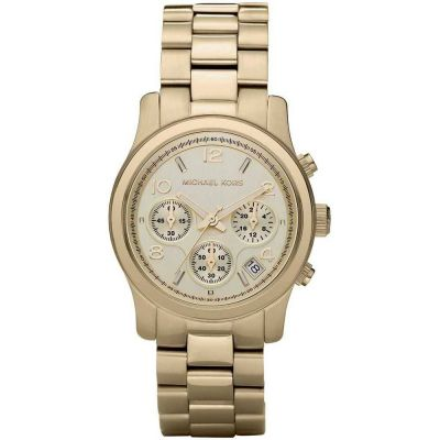 Michael Kors Runway Damenchronograph in Gold MK5055