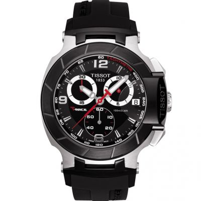 Mens Tissot T-Race Chronograph Watch T0484172705700