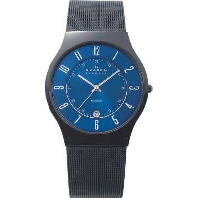 Mens Skagen Grenen Watch T233XLTMN
