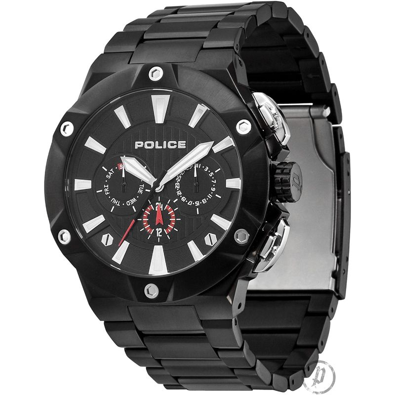 Mens Police Cyclone Watch 12740JSB/02M
