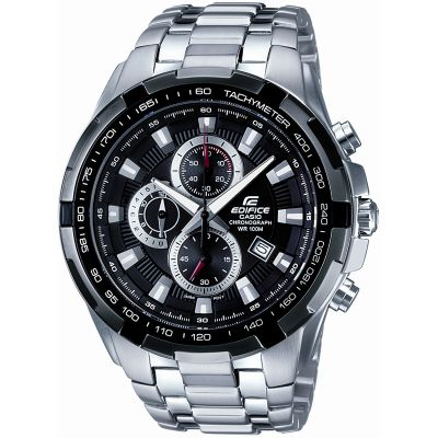 Casio Edifice Herrenchronograph in Silber EF-539D-1AVEF