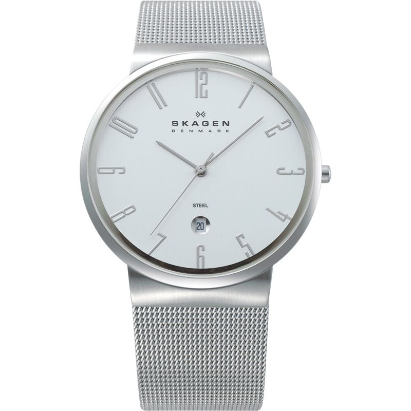 Mens Skagen Ancher Watch 355XLSS