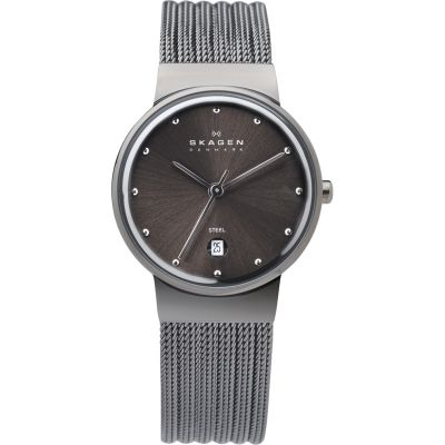 Skagen Ancher Dameshorloge Zilver 355SMM1