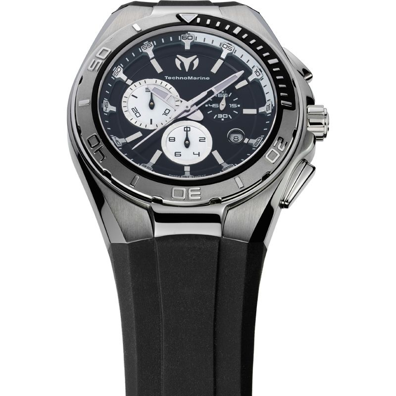 Mens Technomarine Cruise Steel Chronograph Watch 110009
