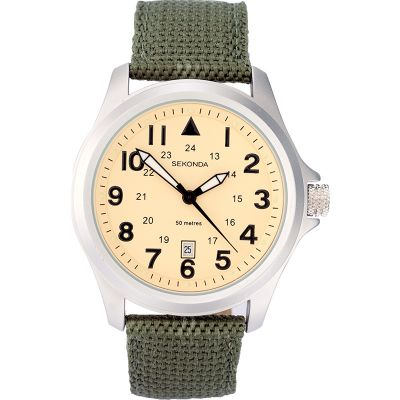 Mens Sekonda Aviator Watch 3341