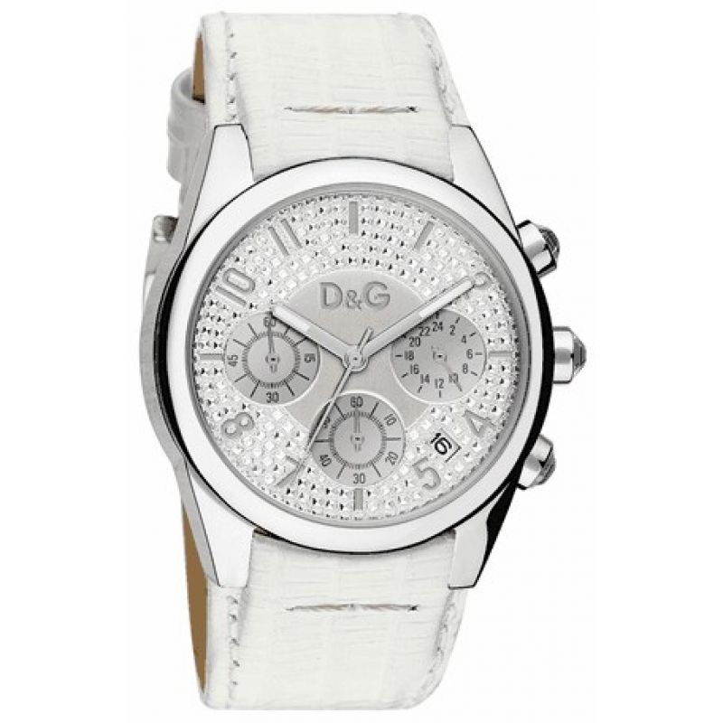 Ladies D&G Sandpiper Chronograph Watch DW0257
