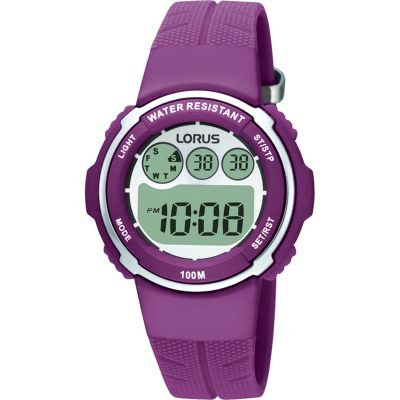Lorus Kinderuhr in Lila R2379DX9