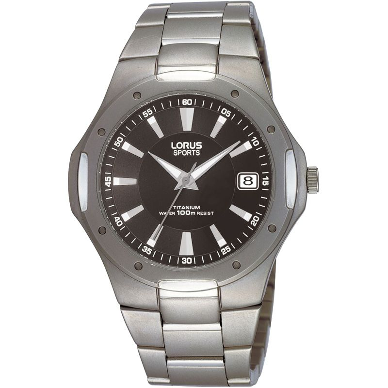 Mens Lorus Titanium Watch RXH81CX9