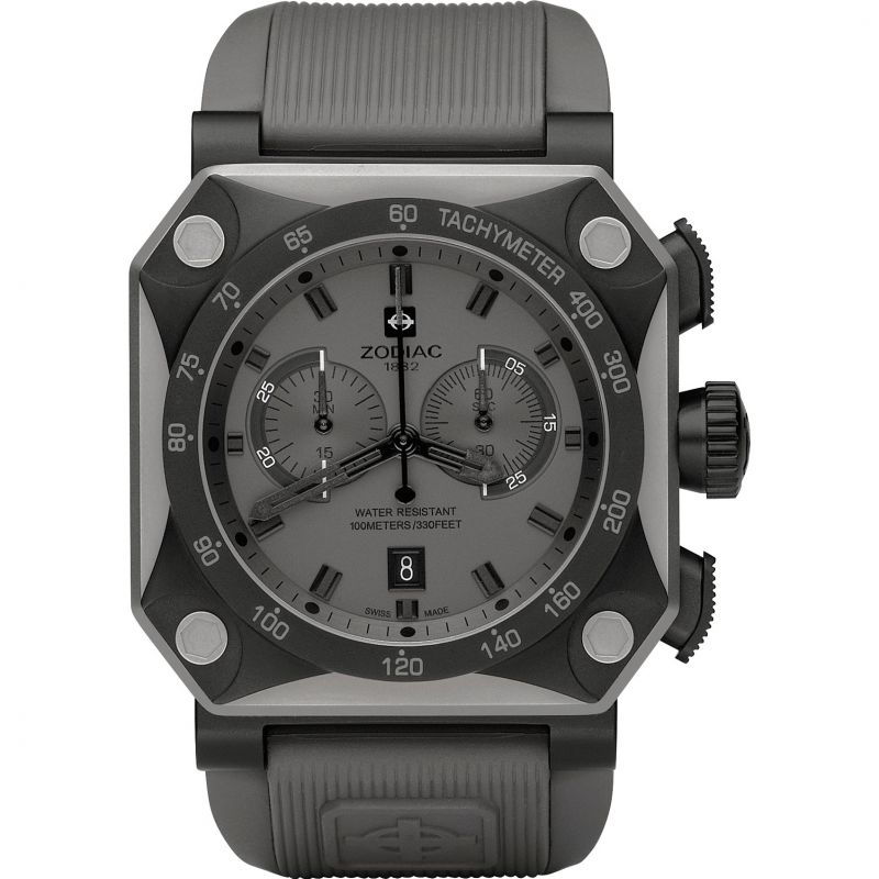 Mens Zodiac ZMX01 Chronograph Watch ZO8519