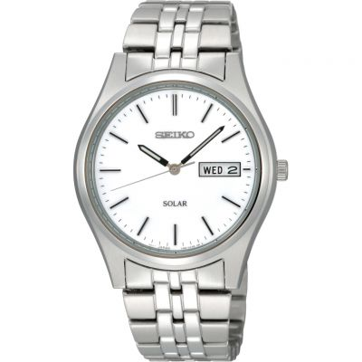 Mens Seiko Solar Powered Watch SNE031P1
