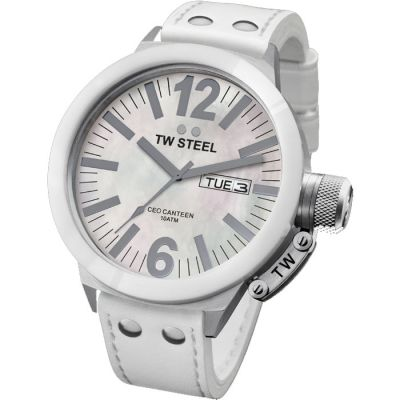 Ladies TW Steel CEO Ceramic 45mm Watch CE1037