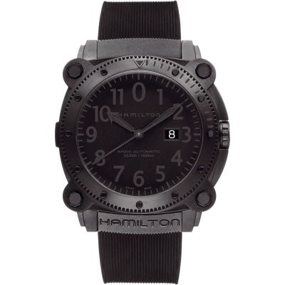 Mens Hamilton Khaki Below Zero 1000m Automatic Watch H78585333