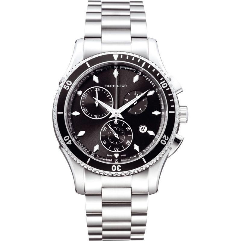 Mens Hamilton Jazzmaster Seaview Chronograph Watch