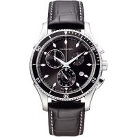 Mens Hamilton Jazzmaster Seaview Chronograph Watch H37512731