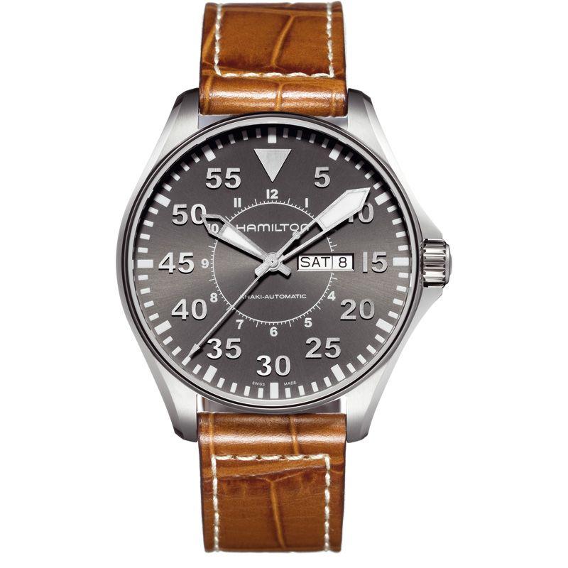 Mens Hamilton Khaki Pilot 46mm Automatic Watch