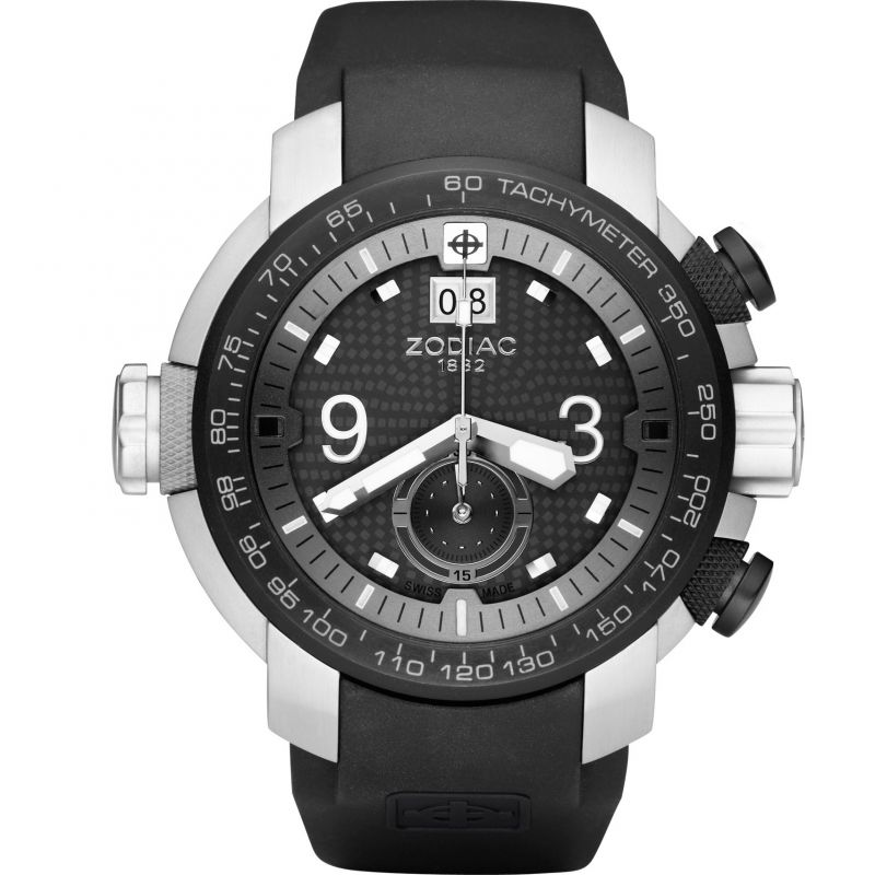 Mens Zodiac ZMX03 Special Ops Chronograph Watch ZO8524