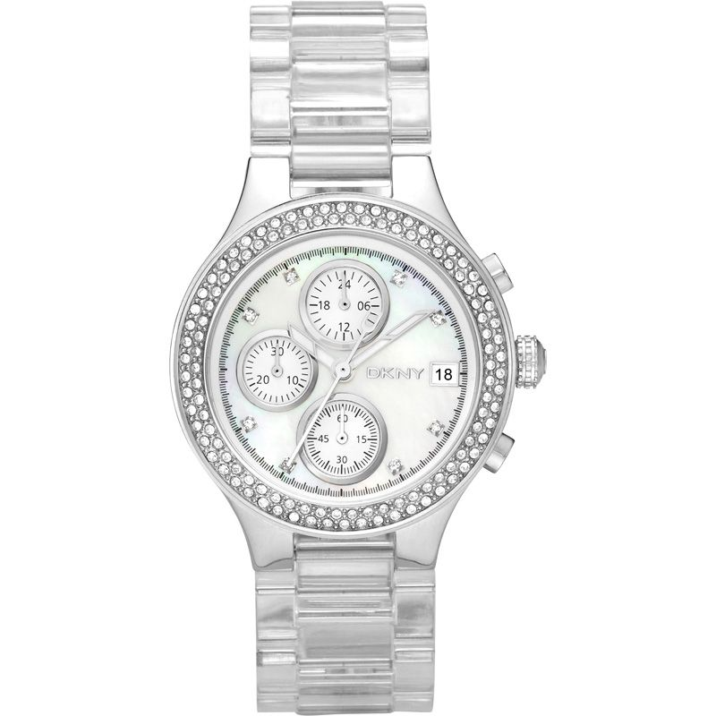 Ladies DKNY Chronograph Watch NY8097